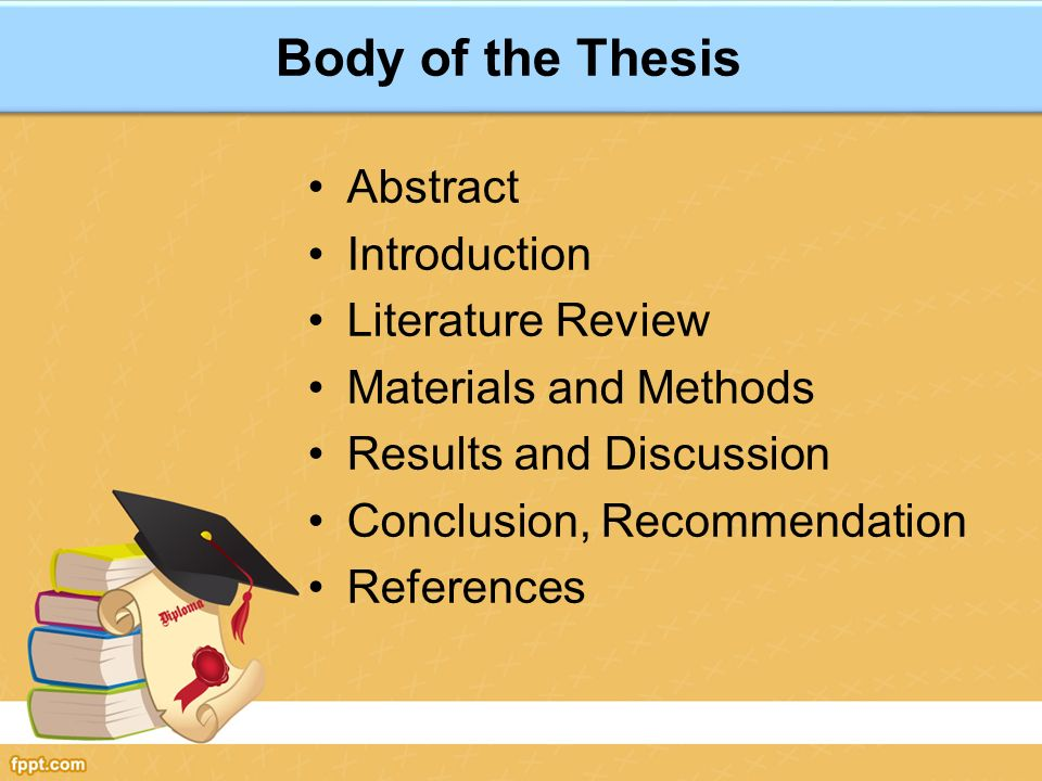 Write my thesis transport