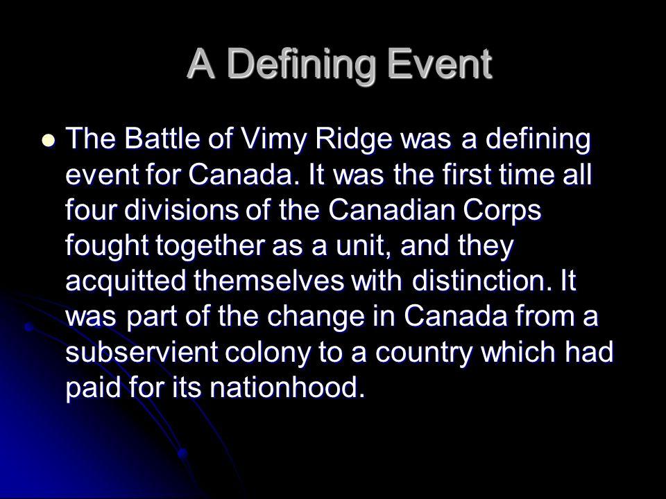 battle of vimy ridge essay