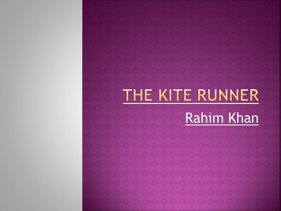 kite runner rahim khans dying wish essay