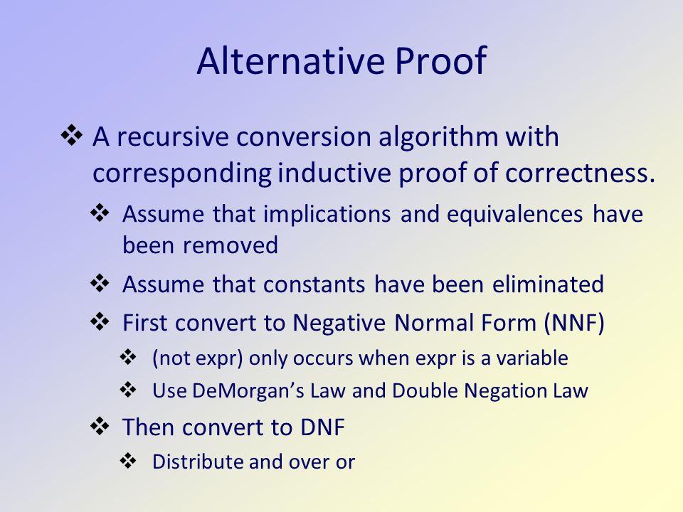 Disjunctive Normal Form CS 270: Math Foundation of CS Jeremy ...