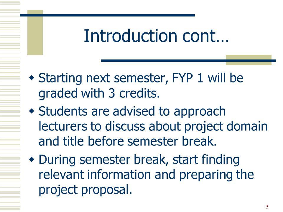 Final year undergrad advise?