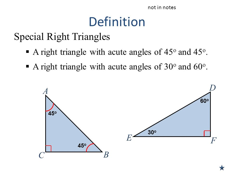 Math 2 Special Right Triangles Worksheet Answers Templates and – Special Triangles Worksheet