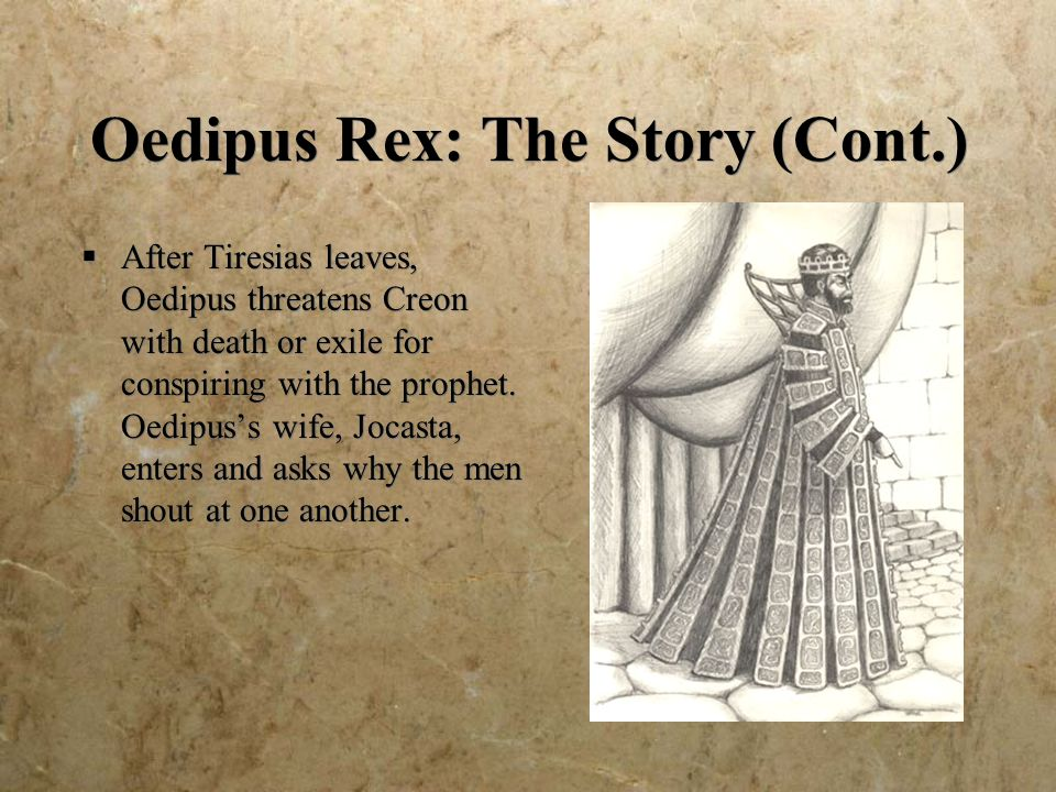 oedipus rex and the theme of An explanation of the motifs in sophocles' oedipus rex.