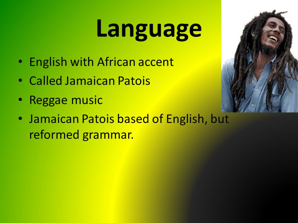 effects of the jamaican creole With the bible being translated into jamaican the vast majority of children arrive at school speaking little apart from the creole why you can trust bbc news.