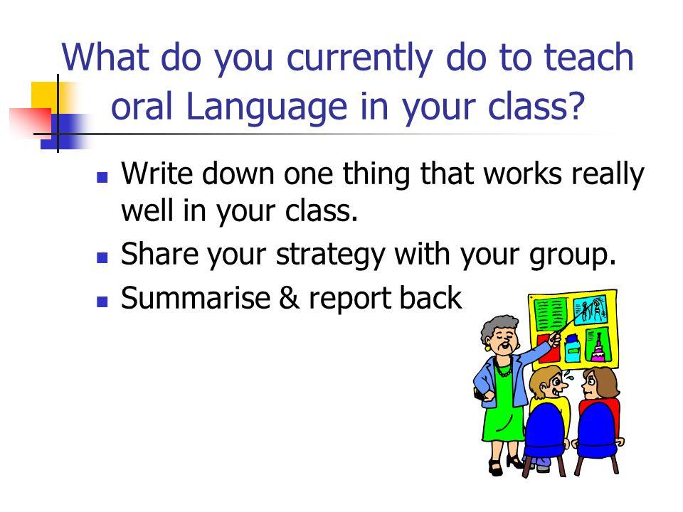 How do u write an oral essay?