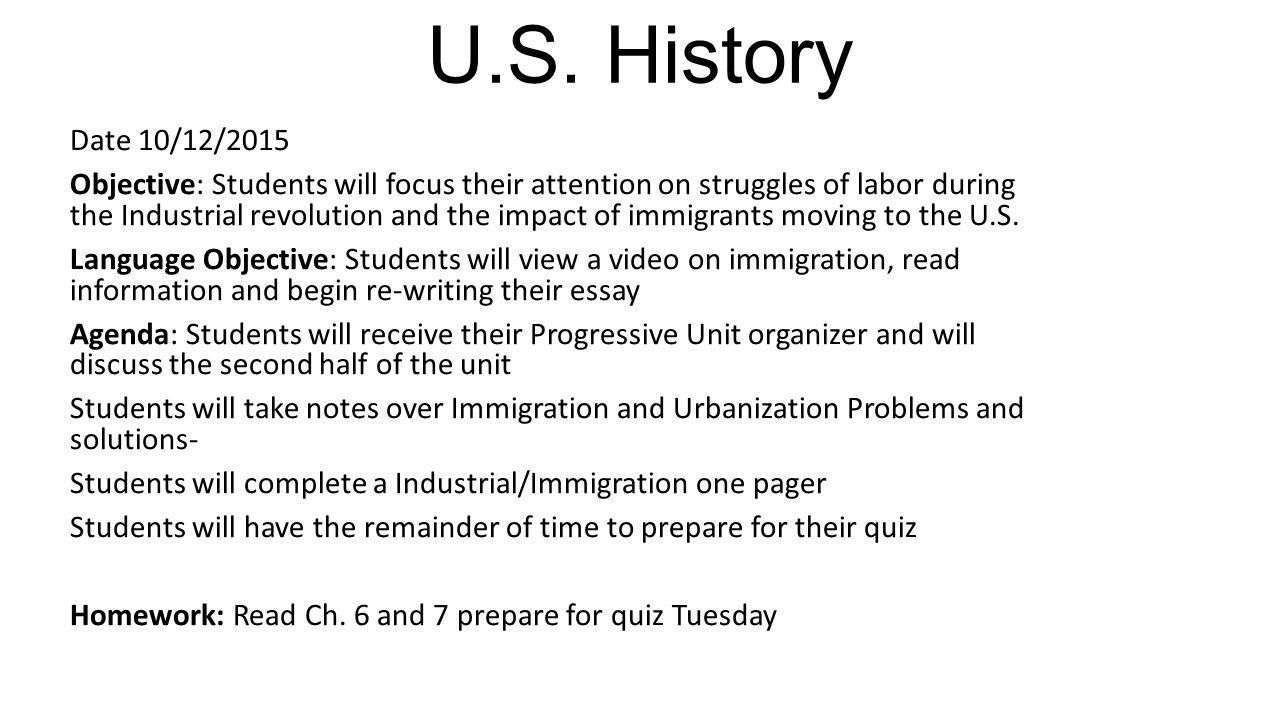 children during industrial revolution essay