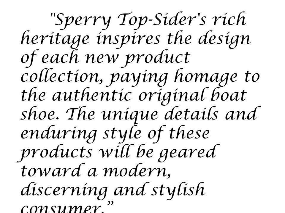 Sperry Top Sider Jamie Dauterman Conner Henry Original Brand Of