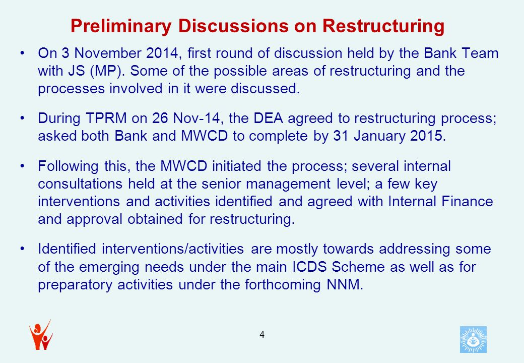 Preliminary Restructuring Proposal?