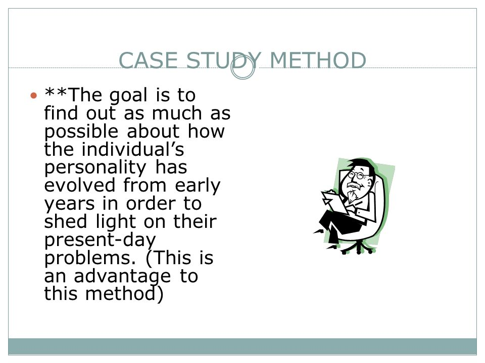 Dissertation Research Method Case Study