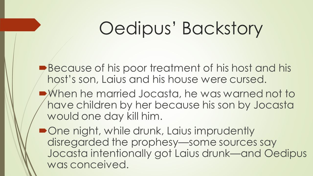 oedipus rex essays fate Oedipus rex (oedipus the king) study guide contains a biography of sophocles, literature essays, quiz questions, major themes, characters, and a full summary and analysis.