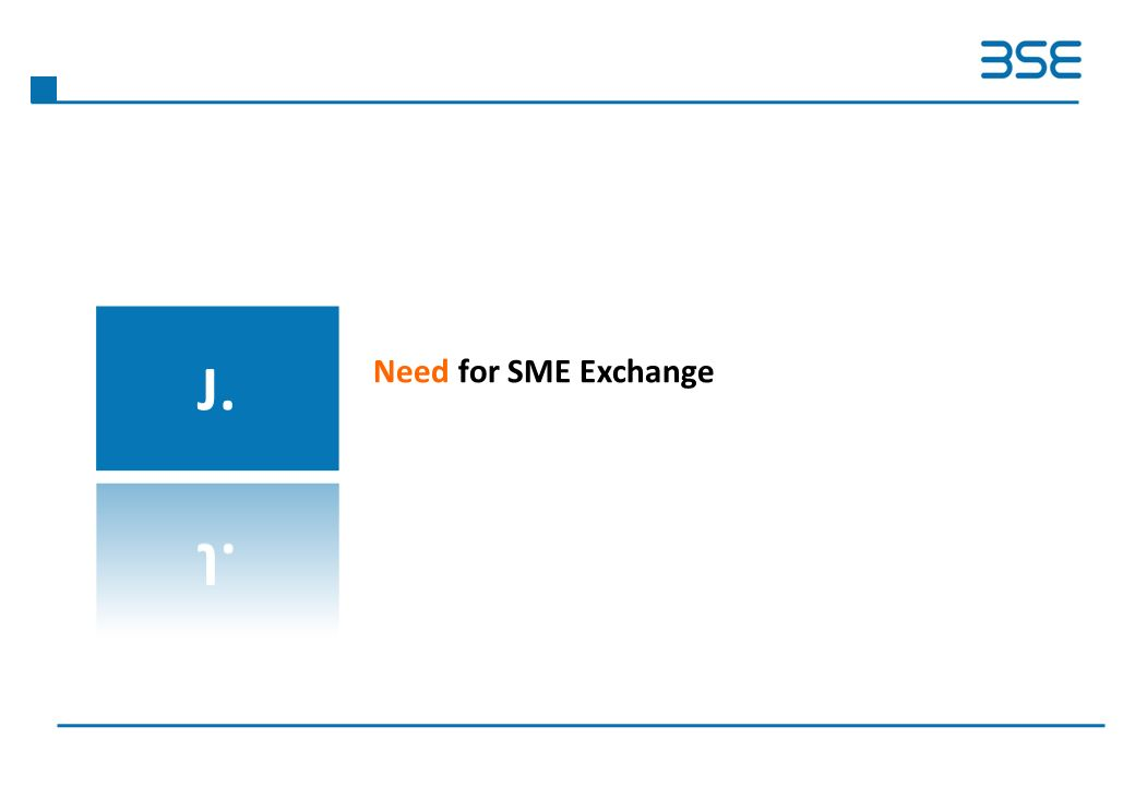 Need for SME Exchange