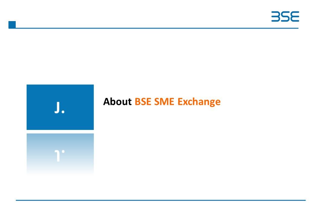 About BSE SME Exchange