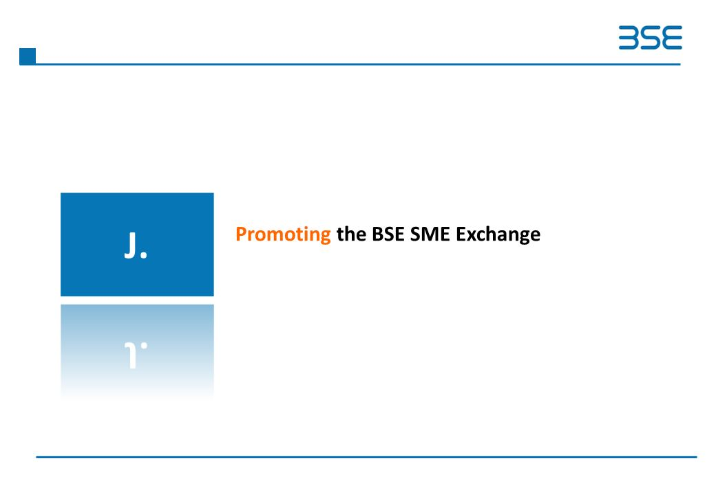 Promoting the BSE SME Exchange
