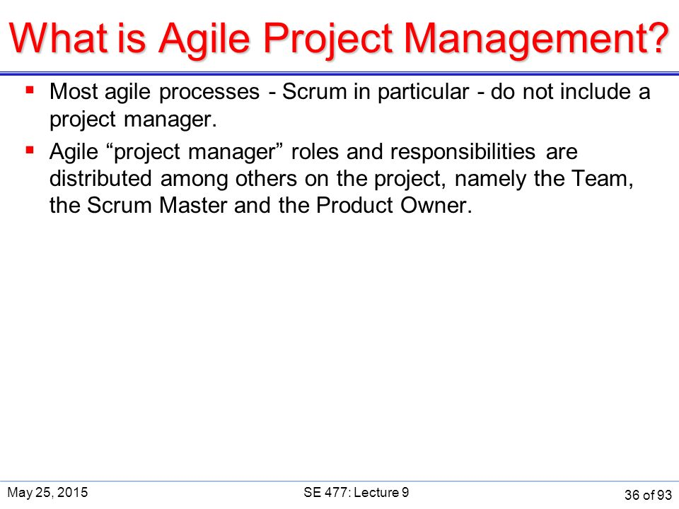 What is Agile Project Management.