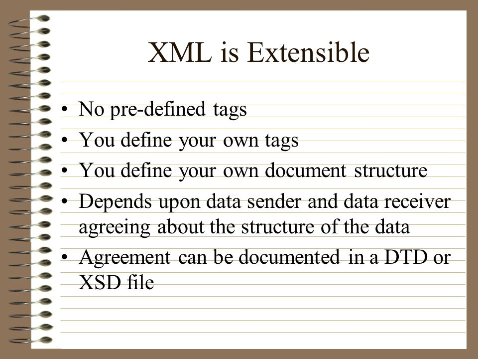 extensible markup language xml question what is the most common