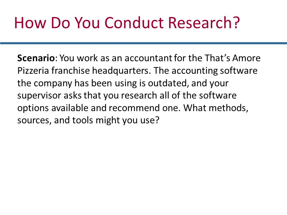 how to do company research