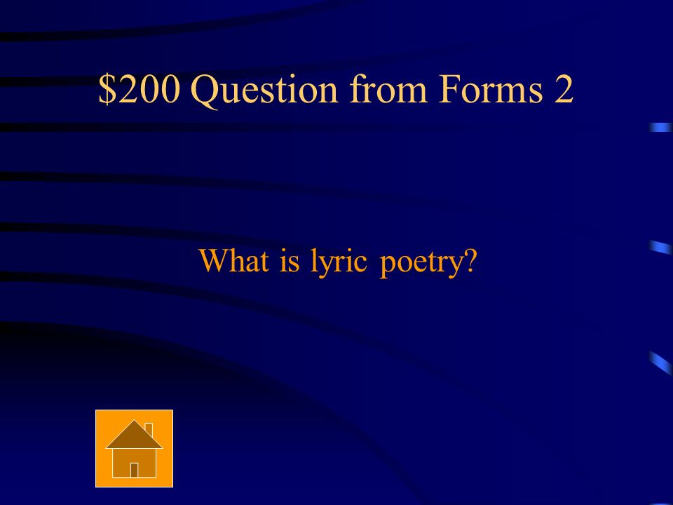 $100 Answer from Forms 2 Haiku
