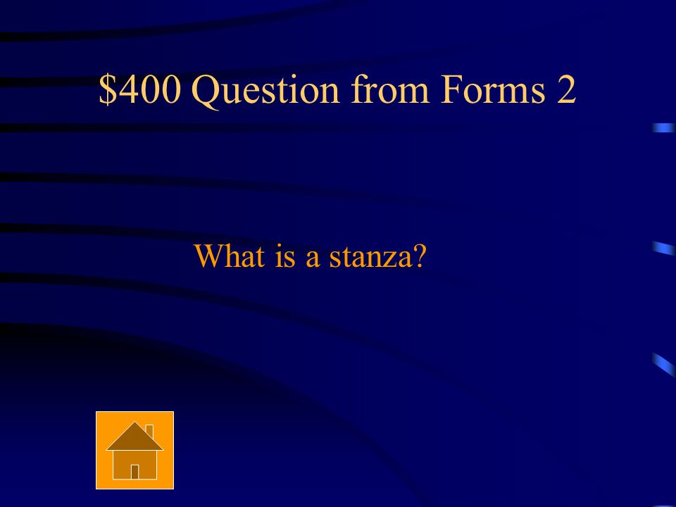 $300 Answer from Forms 2 It is a concrete poem.