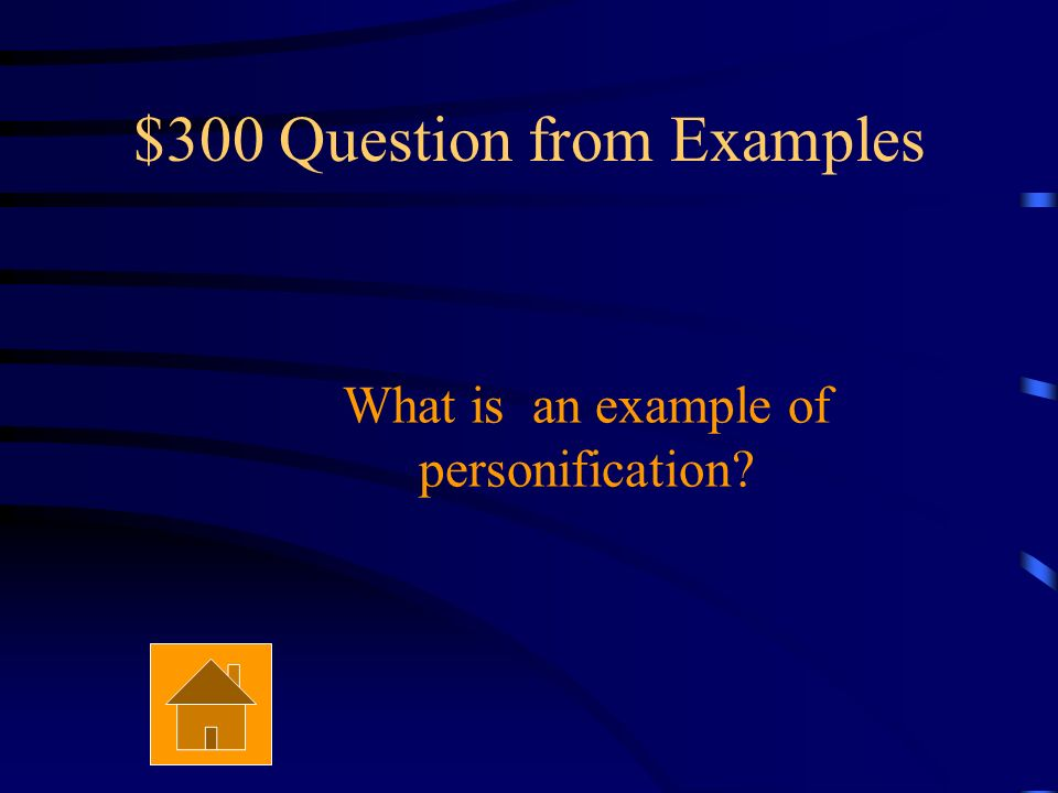 $200 Answer from Examples It must be a comparison that uses like, as, as if, or resembles.