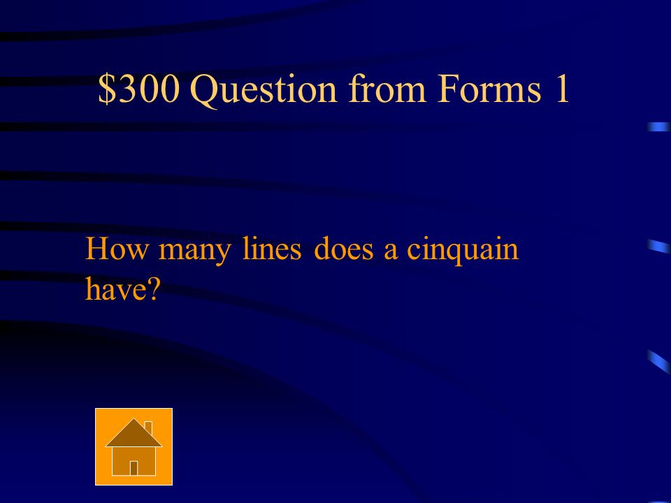 $200 Answer from Forms 1 It tells a story.