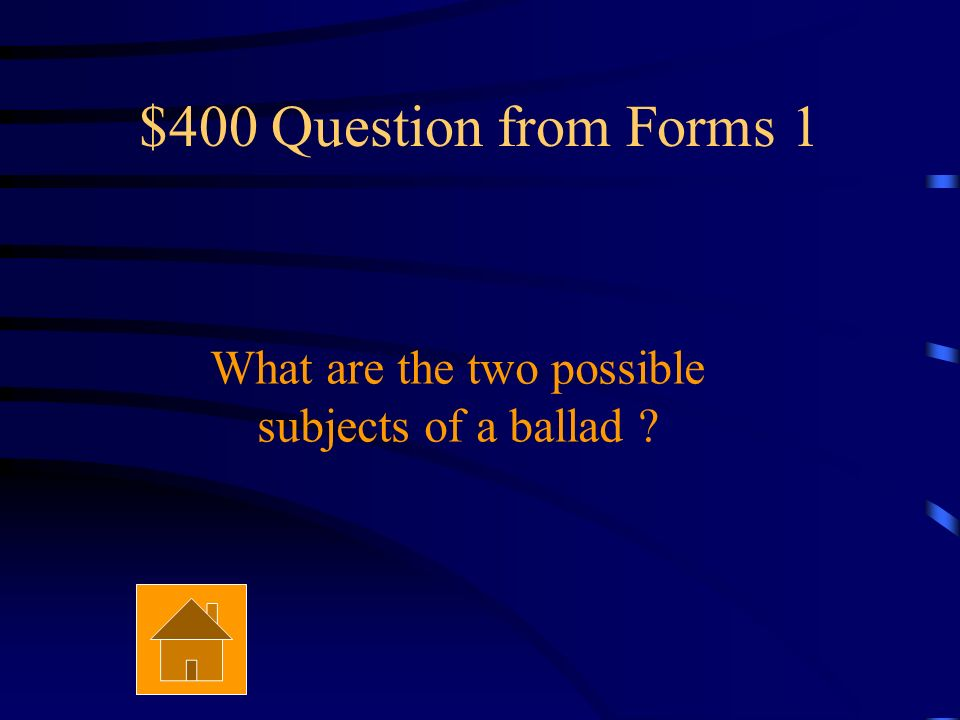 $300 Answer from Forms 1 5