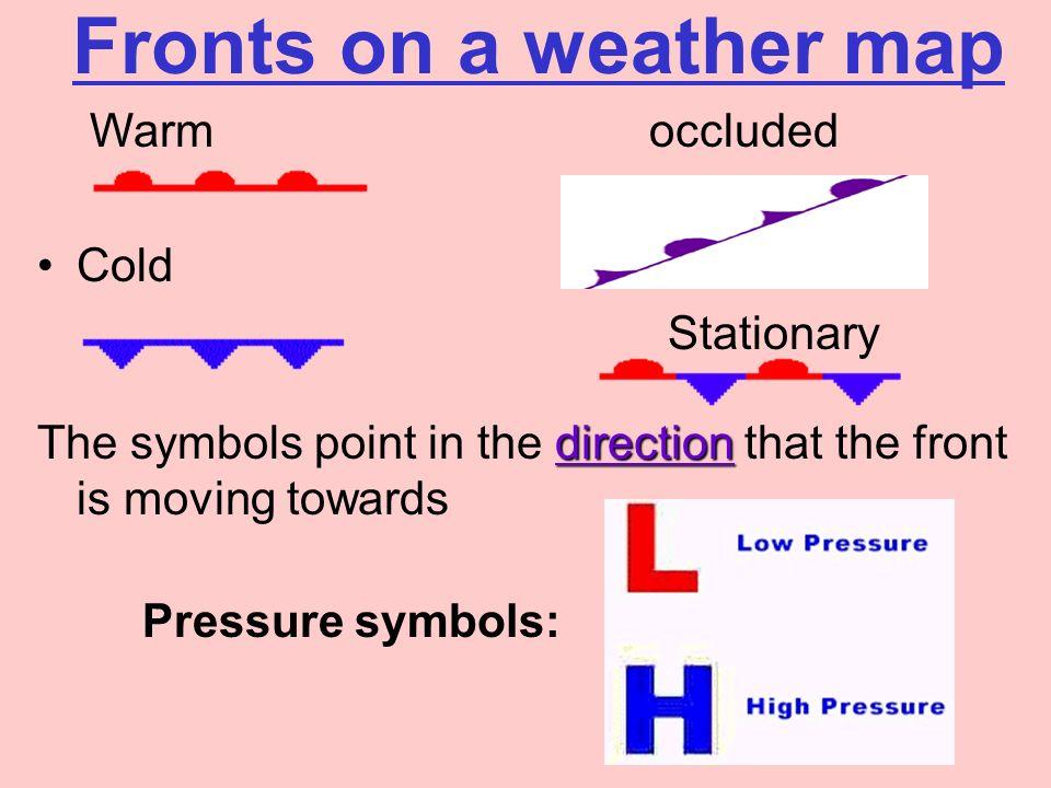 Weather Map Symbols Forteforic