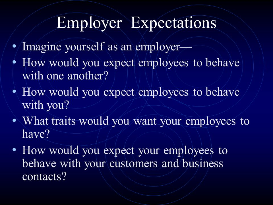 How to be good employee?