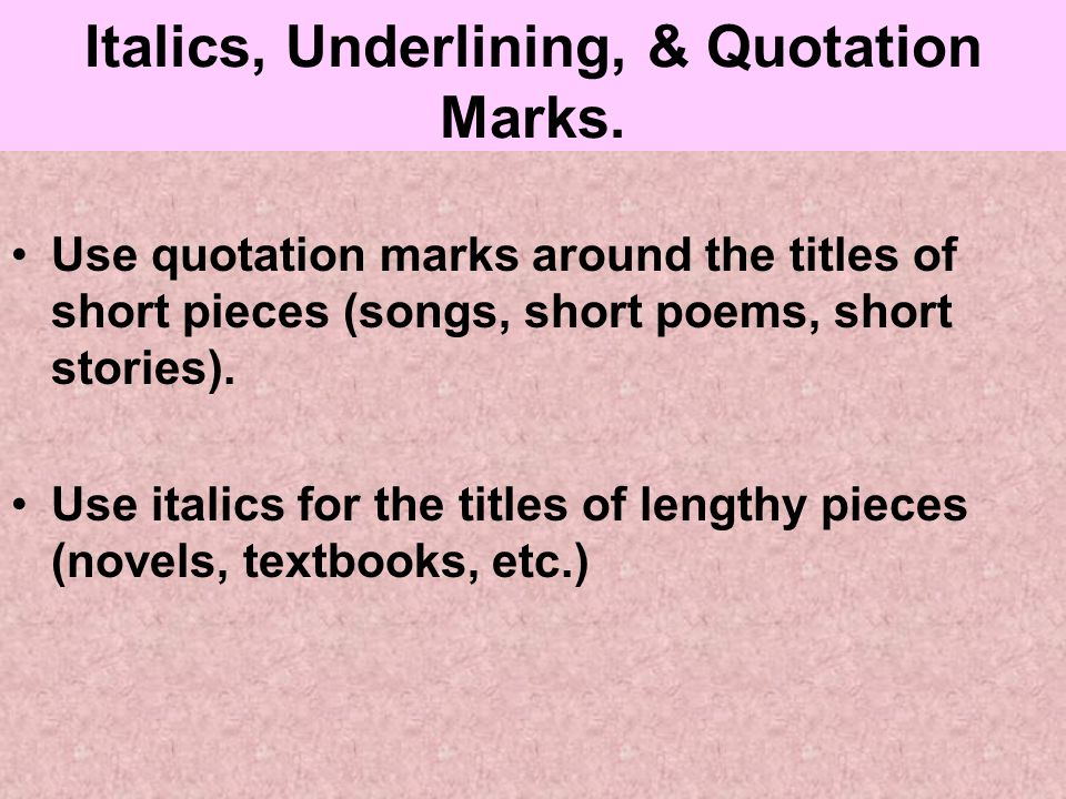 quote title of essay Essay writing essentials (titles of stories, essays and poems are in quotation marks) before or after the quote.