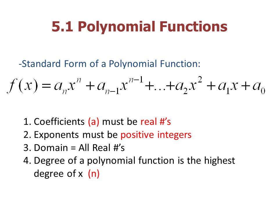 Polynomial Function Standard Form Heartpulsar
