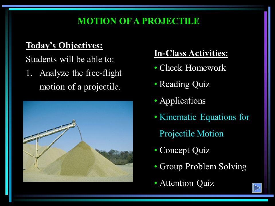 projectile motion 2 essay