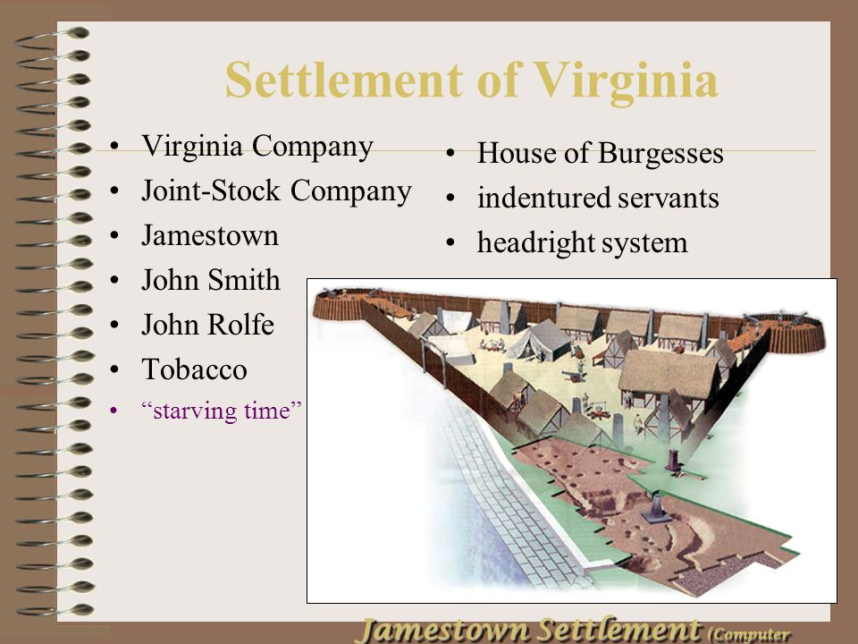 conclusion of the settlement of jamestown by john smith