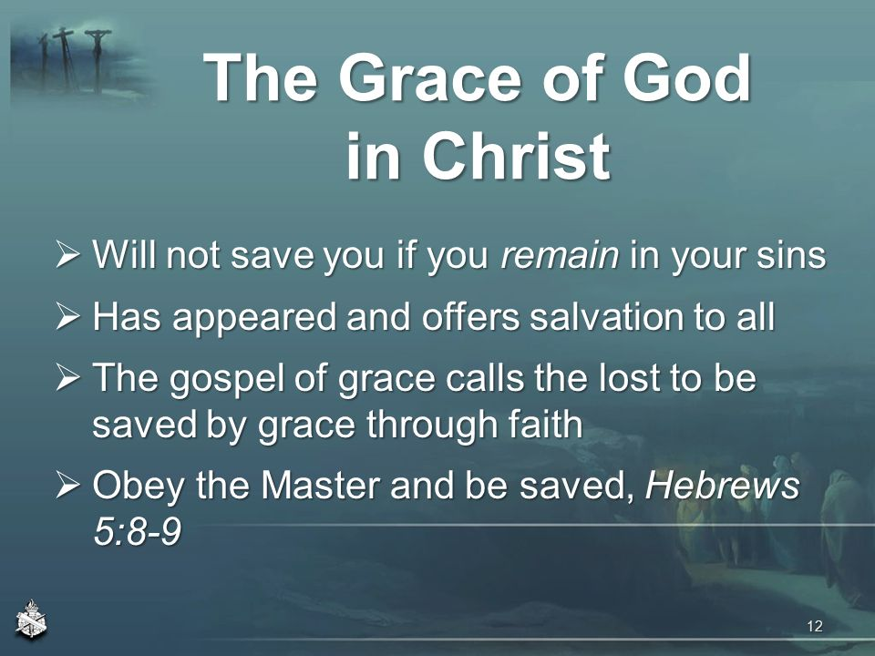 "saved by the grace of god How can one who received god's gift of grace ever lose it many have heard the statement ""once saved, always saved,"" but that teaching is not found in the bible."