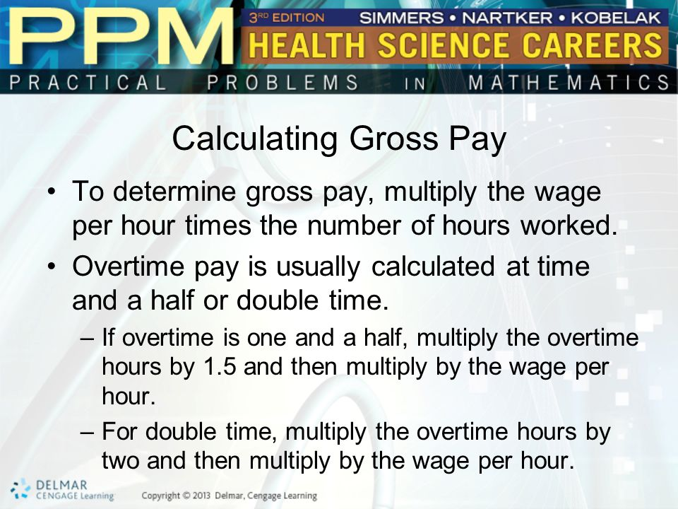 Unit  Paycheck Calculation Basic Principles Of Paycheck