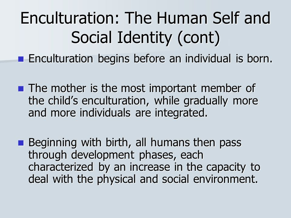 personal and social identities