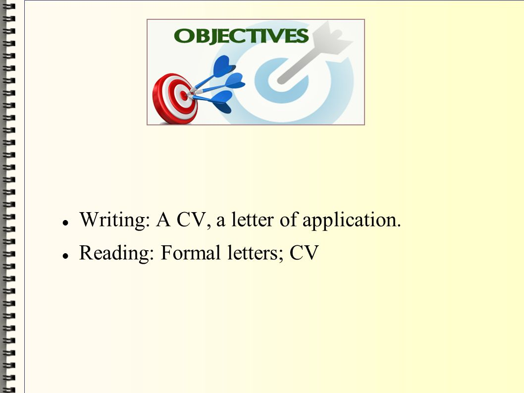 formal letters writing how to write a letter of application and a 4 writing a cv a letter of application reading formal letters cv