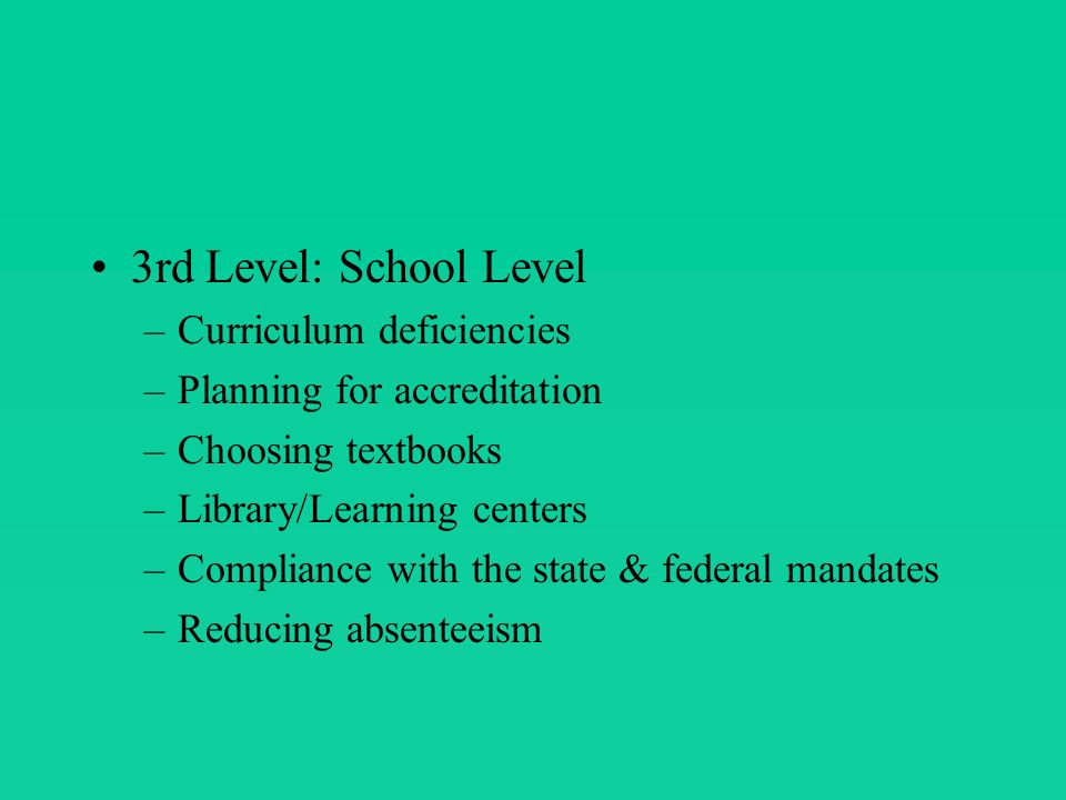 There are various models of curriculum development.