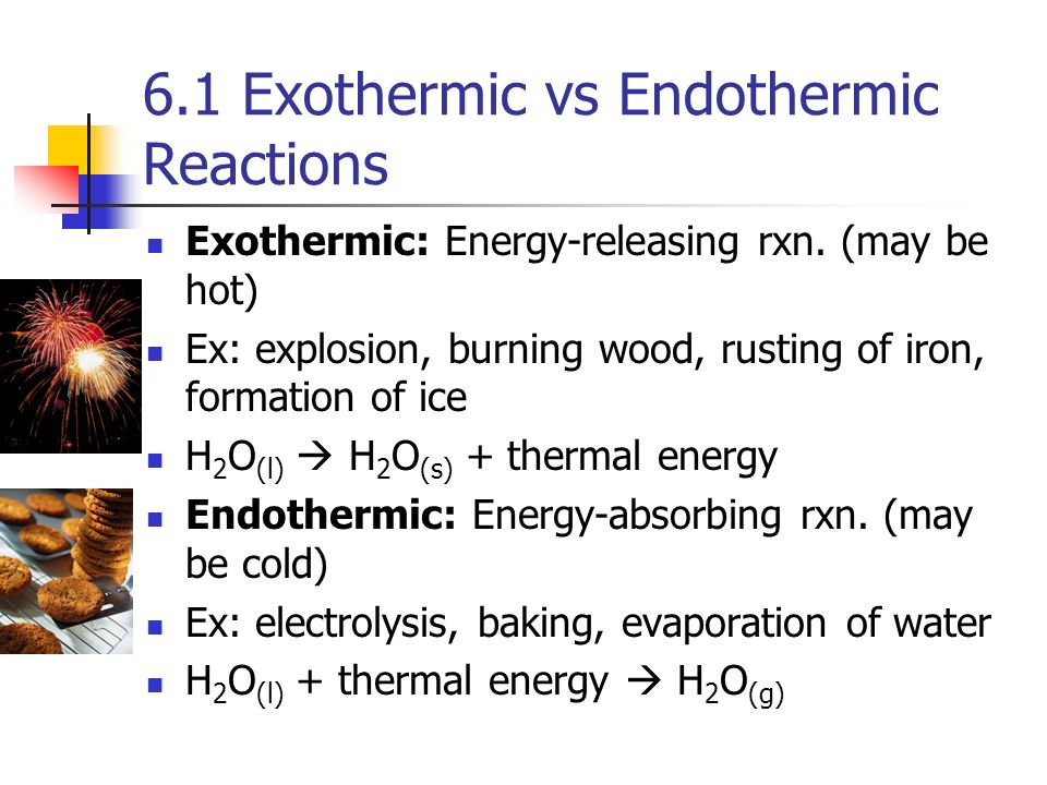 exothermic vs endothermic essay Endothermic vs exothermic comparison here's a quick summary of the differences between endothermic and exothermic reactions: endothermic: exothermic:.