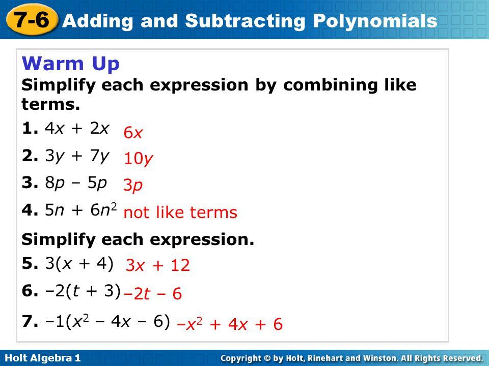 Pre Algebra Combining Like Terms Worksheet - aprita.com