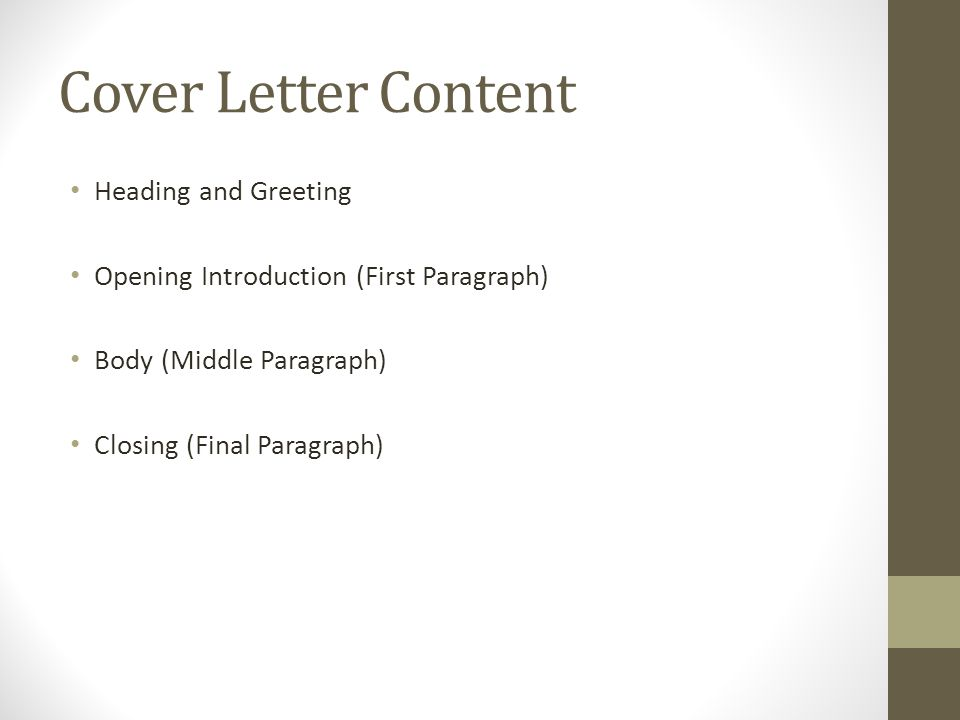 What Is A Cover Letter When Do You Need A Cover Letter What Do
