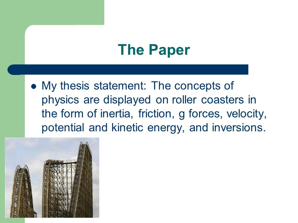 thesis paper wiki In composition, a thesis statement (or controlling idea) is a sentence in an essay, report, research paper, or speech that identifies the main idea and/or central purpose of the text in rhetoric, a claim is similar to a thesis for students especially, crafting a thesis statement can be a.
