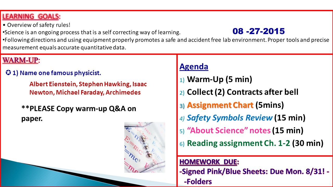 Agenda 1 warm up 5 min 2 collect 2 contracts after bell 3 1 agenda buycottarizona