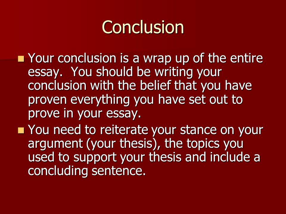 How to write a conclusion to a literary essay - Quora