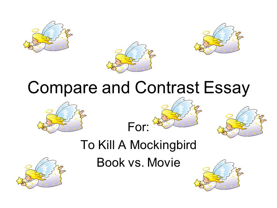 movie comparison essay