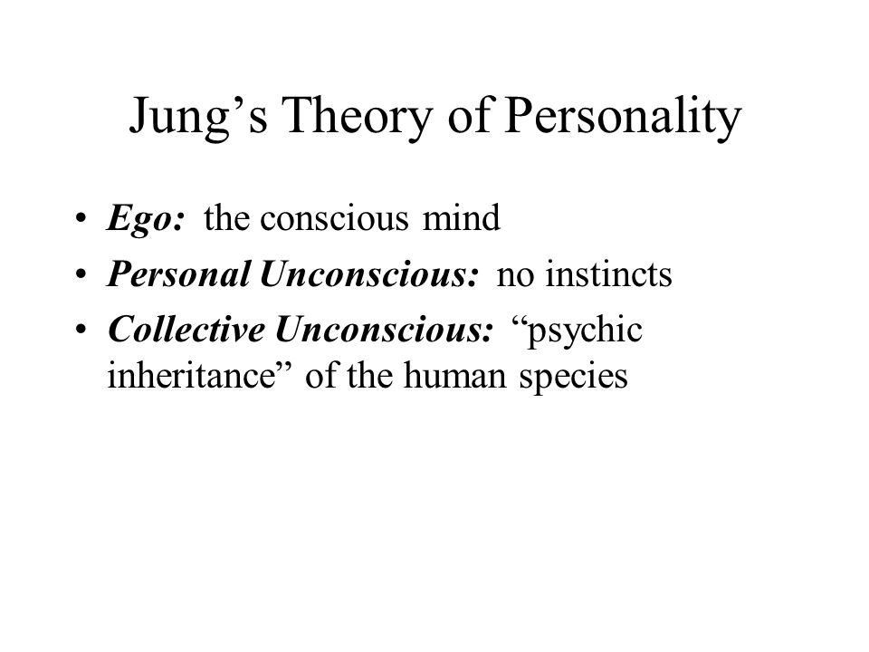 Personal theory of personality