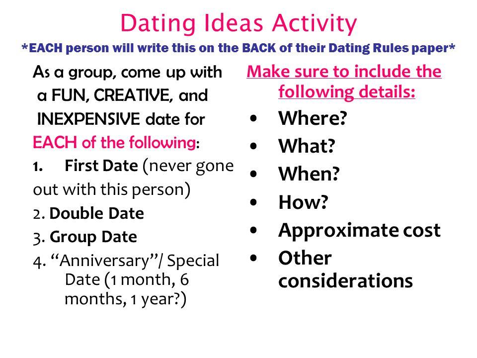 6 Dating ...