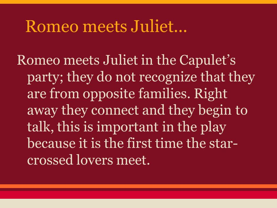 love between romeo and juliet essays