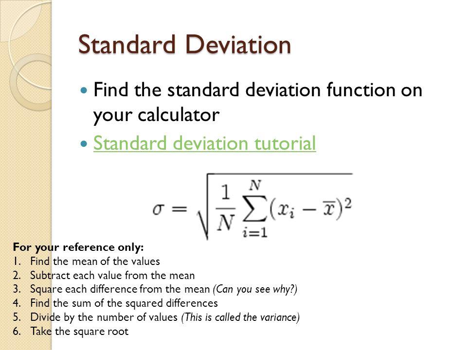 Statistics in ib biology error bars standard deviation t test 5 standard deviation ccuart Choice Image