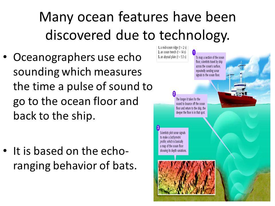 The Ocean Floor Revealing The Ocean Floor The Ocean Floor Has - What technology allows us to map ocean floor features