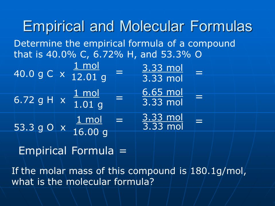 Mass % and % Composition Mass % = grams of element grams of ...