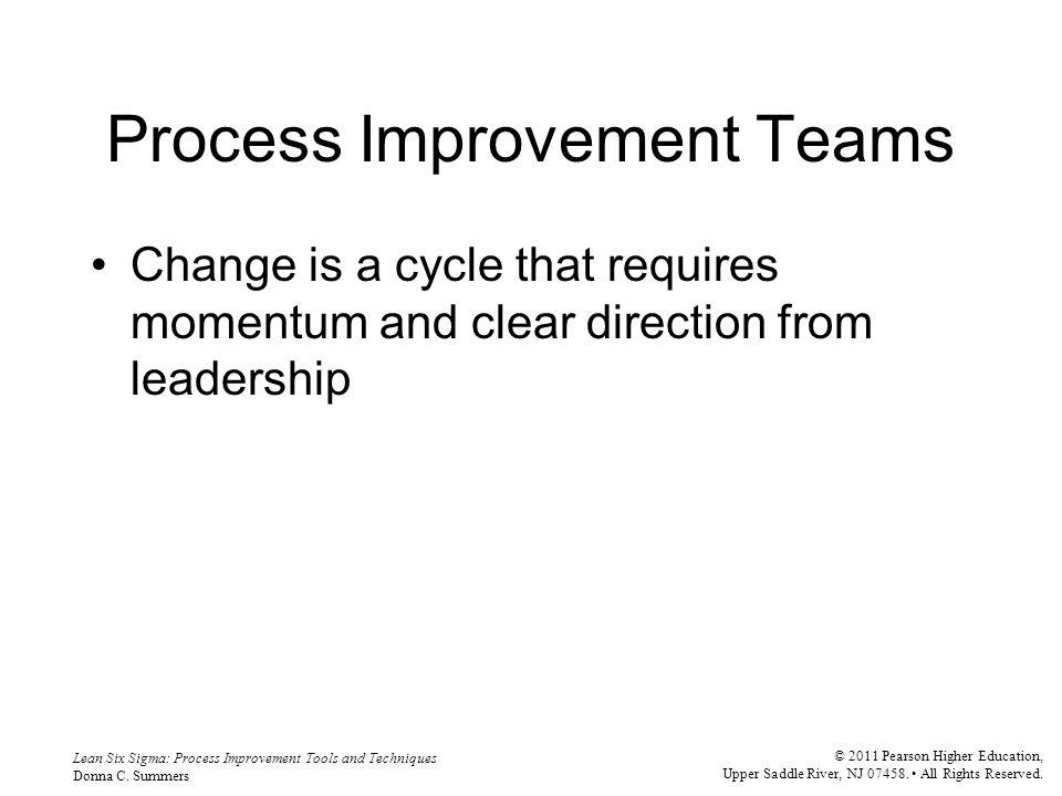 Lean Six Sigma: Process Improvement Tools and Techniques Donna C.